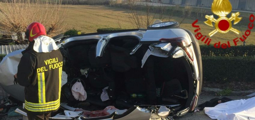 INCIDENTE MORTALE FOSSOMBRONE