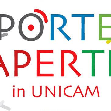 """""""PORTE APERTE IN UNICAM"""""""