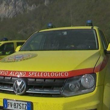 RECUPERATO L'ESCURSIONISTA INTRAPPOLATO NELLE GROTTE DI FRASASSI