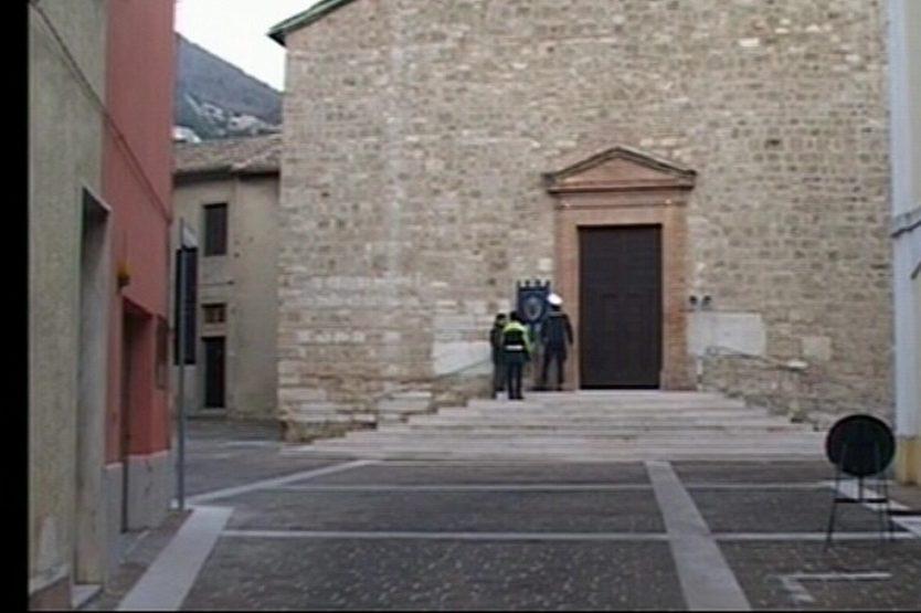 PIORACO, RIAPERTA LA CHIESA DI SAN VITTORINO