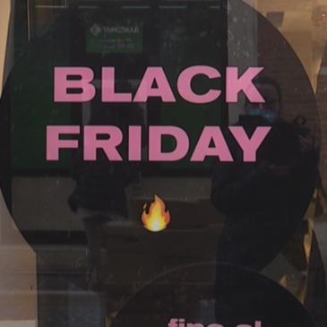 IL BLACK FRIDAY NELLE MARCHE