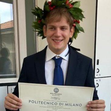 E' ASCOLANO IL LAUREATO PIU' GIOVANE D'ITALIA